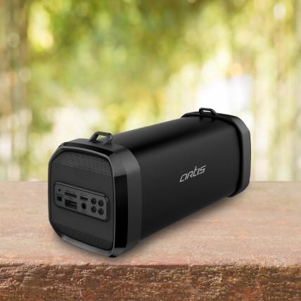 BT90 Wireless Portable Bluetooth Speaker With USB / FM / AUX IN (Black)