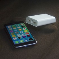 8400Mah Dual USB Powerbank - Artis PB8400