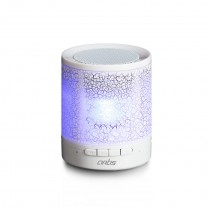 Bluetooth Speaker with TF Card Reader/ Aux In / LED Light : Artis BT12