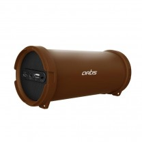 Wireless Portable Bluetooth Speaker With USB / FM / AUX IN: Artis BT99 (Brown)