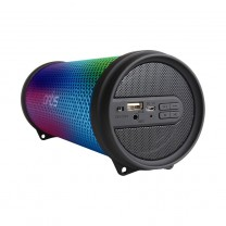 Wireless Portable Dynamic LED Bluetooth Speaker With USB / FM / AUX IN / LED Lights: Artis BT99 RGB