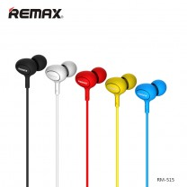 In-Ear Earphones with Mic.- Remax 515