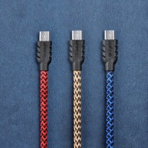 Braided Micro USB Sync/Charge Cable - Remax Suteng Series