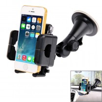 Universal 360 Degree Rotation Suction Cup Car Holder / Desktop Stand for Mobile Phones