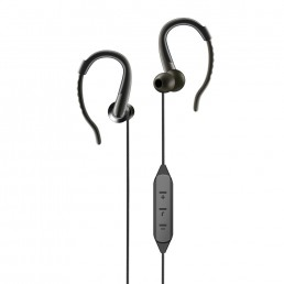 Bluetooth Earphones With Mic. - Artis BE110M Black