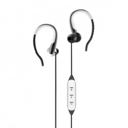 Bluetooth Earphones With Mic. - Artis BE110M White