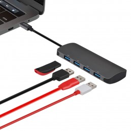 HB200  USB Type C to 4 x  USB 3.0 Port Hub