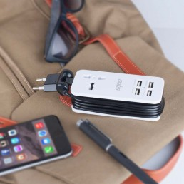 4 Ports USB Charger & Universal Socket - Artis U401
