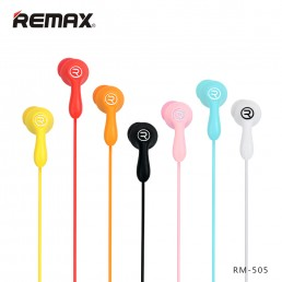 In-Ear Earphones with Mic.- Remax 505