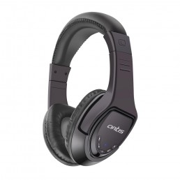 Bluetooth Headphone with Mic. / FM Radio / Micro SD card Reader : Artis BH180M