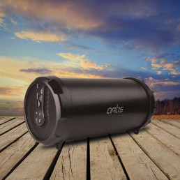 BT111 Outdoor Bluetooth Speaker With USB / FM / Micro SD Card Reader / Aux In : Artis