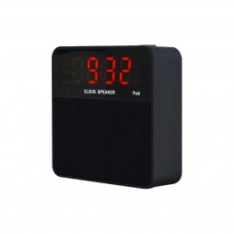 BT11  Wireless Portable Bluetooth Speaker with TF Card Reader/AUX In/ Alarm Clock/USB