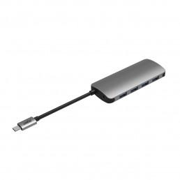 HB200  USB Type C to 4 x  USB 3.0 Port Hub