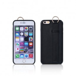 REMAX Image Series Leather Case / Cover Black For Iphone 6