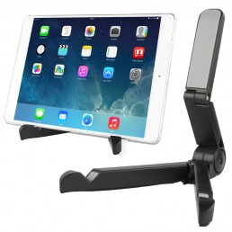 Portable Stand, Fold up Stand for tablet PC 7 inch to 10 inch(Black)