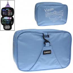 Multi Function Portable Storage Bag Wash Bag for Travel (Blue)
