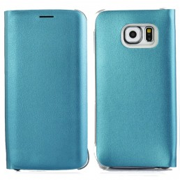 Horizontal Flip Leather Case with Card Slots for Samsung Galaxy S6 Edge / G9250