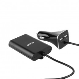 USB Car Charger & Extension Hub : Artis UC400E