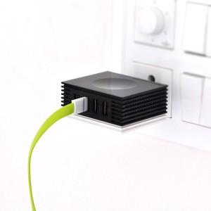 4.2A 4 USB Wall Charger - Powersafe U400