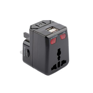 Universal Travel Adapter With 1A USB Charging - Artis UV100