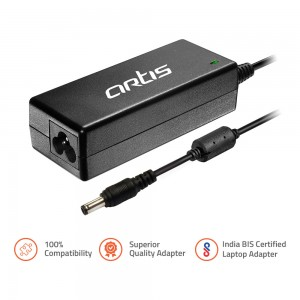 Acer Compatible 65W Laptop Adapter: Artis 0503