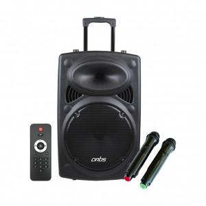 BT912 Wireless Trolley Bluetooth Speaker with USB /FM/TF card Reader/AUX In/Mic In