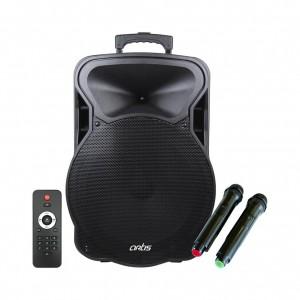 BT915 Wireless Trolley Bluetooth Speaker with USB /FM/TF card Reader/AUX In/Mic In