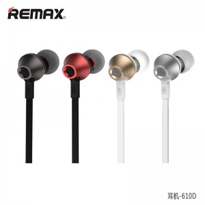 In-Ear Earphones : Remax 610D