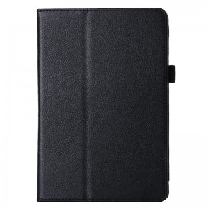 Litchi Texture Horizontal Flip PU Leather Protective Case with Holder for iPad Pro 12.9 inch(Black)