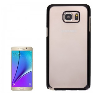 Electroplating Plastic Case for Samsung Galaxy Note 5 / N920(Black)