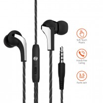 E440M Powerful Bass Dynamic Earphone with Mic.