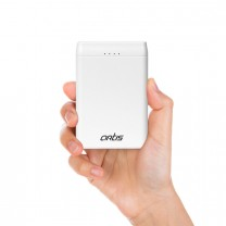 5000 mAh Lithium Polymer Power bank (White)
