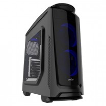 Artis Y100 Computer Gaming Cabinet support ATX, Micro ATX Motherboard, 2 x 120mm LED Fan with Sturdy built Quality