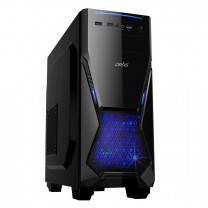 Artis X200 Computer Gaming Cabinet support ATX, Micro ATX Motherboard, 1x 120mm LED Fan & Artistic Mesh Design with Sturdy built Quality