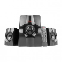 MS408 2.1 Ch Wireless Multimedia speaker system with FM/AUX/USB