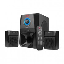MS204 2.1 Ch Wireless Multimedia speaker system with FM/AUX/USB