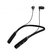 BE910M Sports Bluetooth Wireless Earphone with Stereo Sound & Hands free Mic. (Black)