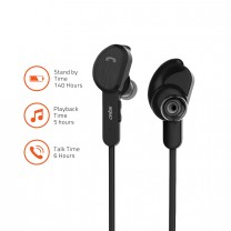 BE410M Sports Bluetooth  4.2 Earphone with  Mic. for Hand free Calling