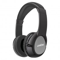 BH200M Bluetooth Headphone with Mic. / FM Radio / Micro SD card Reader (Black-Grey)