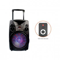 BT918 Outdoor Bluetooth Speaker with USB /FM/TF card Reader/AUX In/Mic In Trolley Bluetooth Speaker
