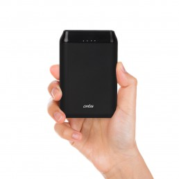 10000 mAh Lithium Polymer Power bank (Black)