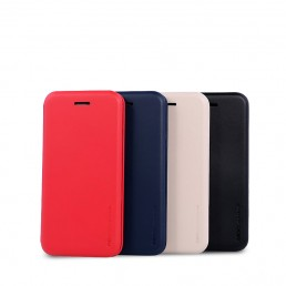 Remax Shell Series PU Leather Flip Mobile Cover / Case For Iphone 6 / 6S