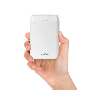 10000 mAh Lithium Polymer Power bank (White)