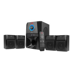 MS444 4.1 Ch Wireless Multimedia Speaker System With Fm/aux/usb Bluetooth Home Audio Speaker