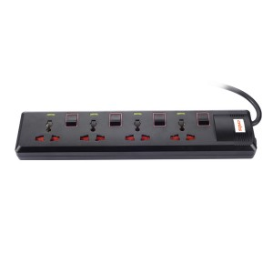 4 Socket Multi Switch Spike Suppressor (1.5Mtr Cable)