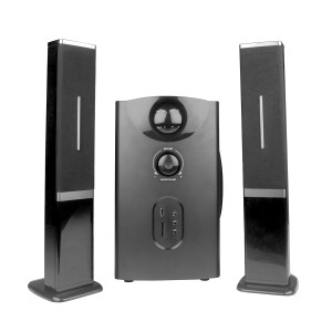 MS6655 2.1 Ch Wireless Multimedia speaker system with FM/AUX/USB